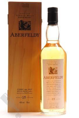 Aberfeldy 15 years in wooden box