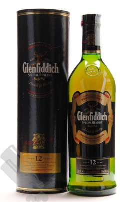 Glenfiddich 12 years Special Reserve 100cl Old Bottling
