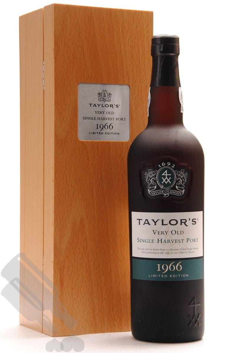 Taylor's Very Old Single Harvest Port 1966 Limited Edition