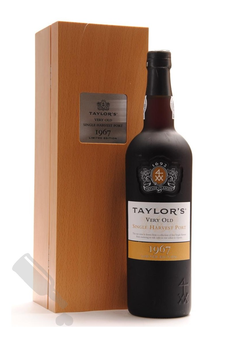 Taylor's Very Old Single Harvest Port 1967 Limited Edition