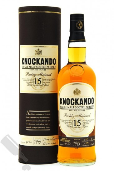 Knockando 15 years 1998 Richly Matured