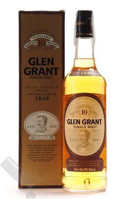 Glen Grant 10 years Old Bottling
