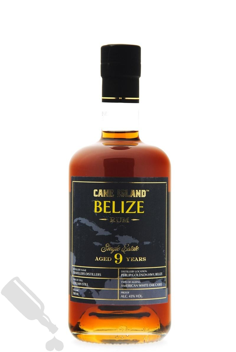 Travellers Distillers 9 years Cane Island