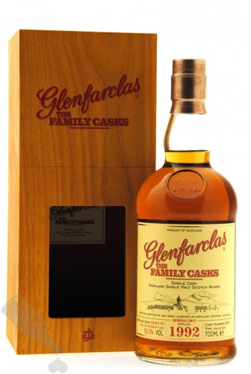 Glenfarclas 1992 - 2017 #862 The Family Casks