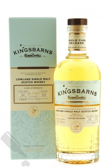 Kingsbarns 2015 - 2019 #1510292 Single Cask Release