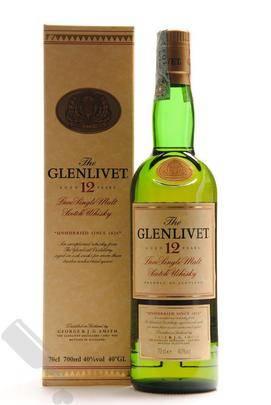 Glenlivet 12 years - Old Bottling