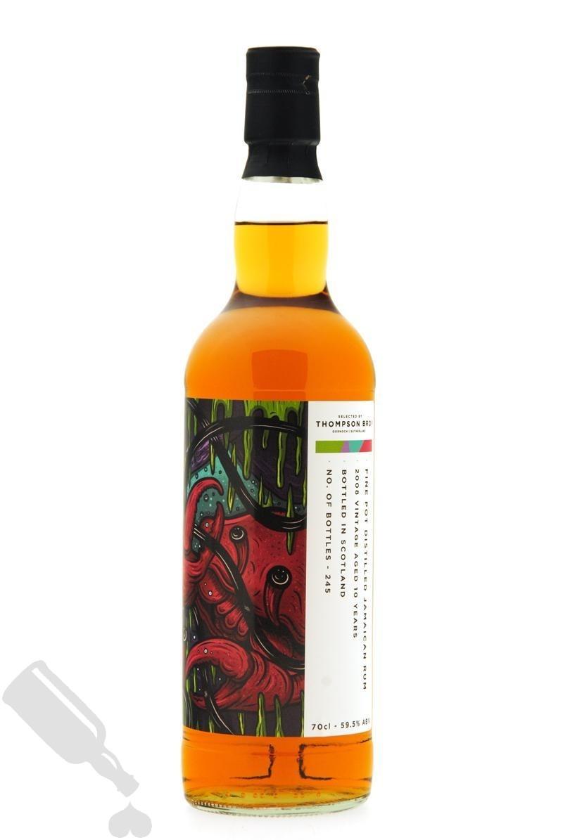 Fine Pot Distilled Jamaican Rum 10 years 2008 - 2019 Thompson Bros.