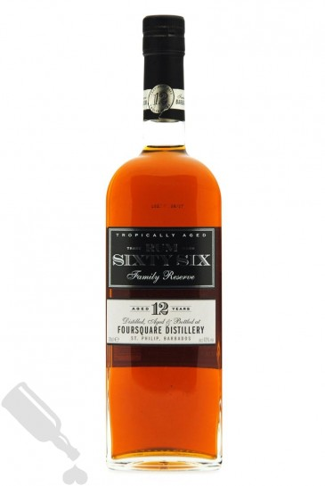 Foursquare 12 years Rum Sixty Six Family Reserve