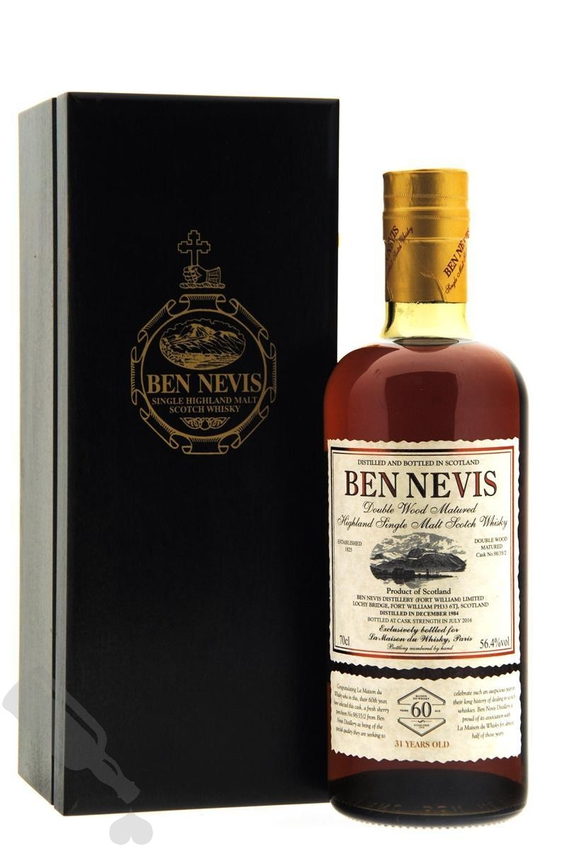 Ben Nevis 31 years 1984 - 2016 #98/35/2 for 60th Anniversary LMDW