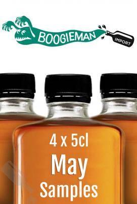 Boogieman Sample Set 4x 5cl May 2017