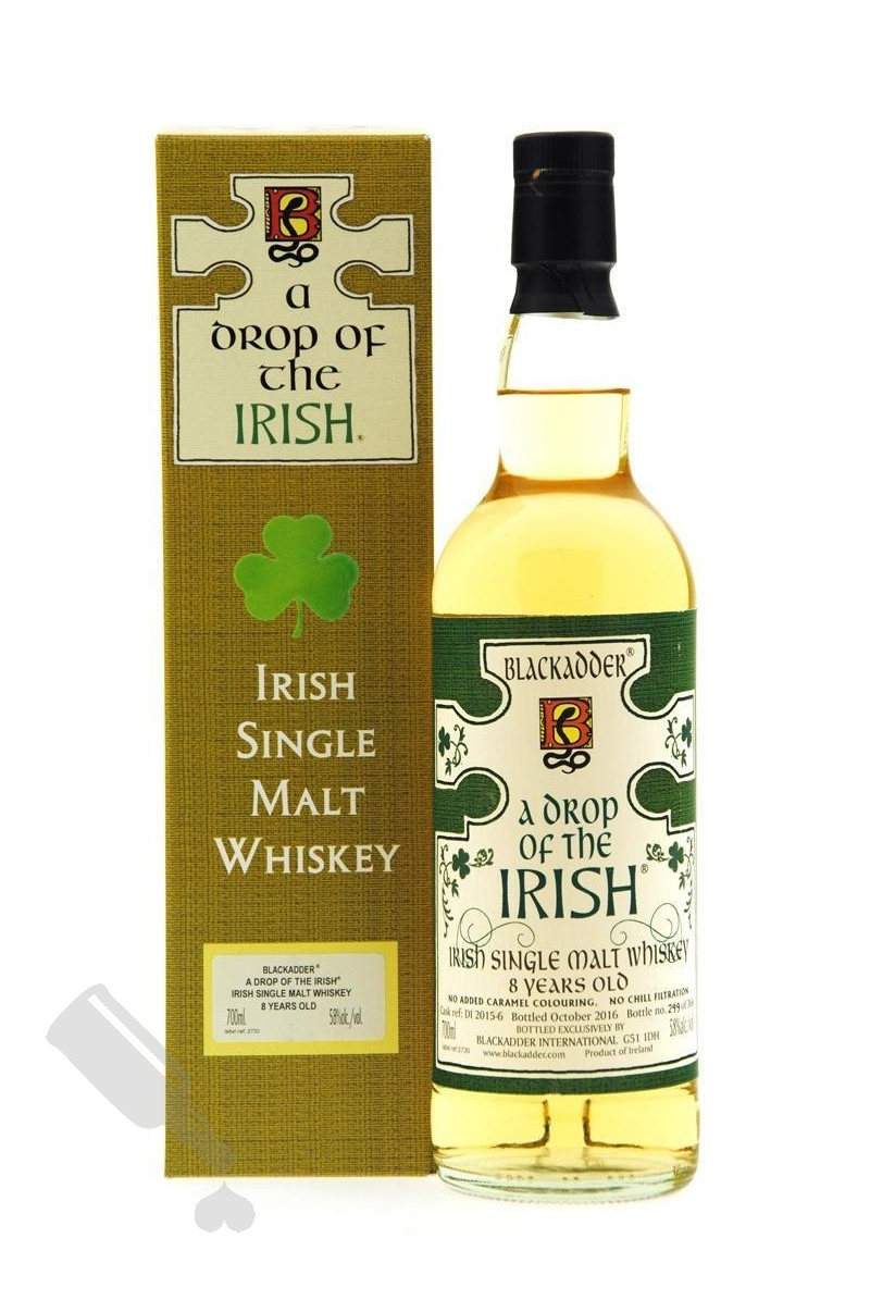 Blackadder A Drop Of The Irish 8 years 2016 #DI 2015-6