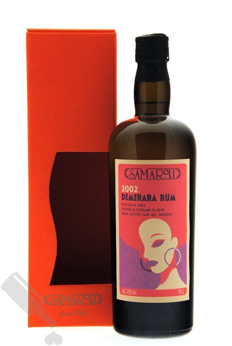 Demerara Rum 2002 - 2018 #1800012 Samaroli