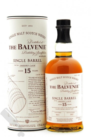 Balvenie 15 years Single Barrel Sherry Cask #9055