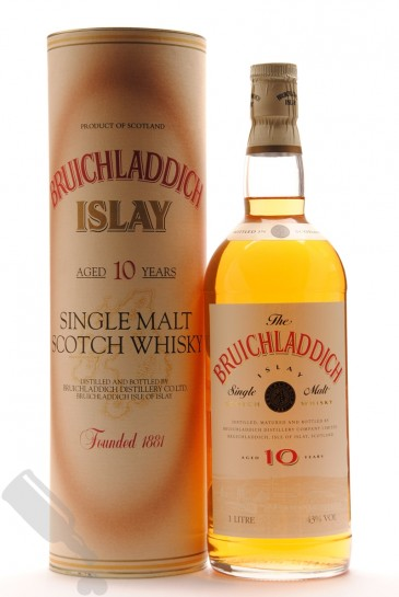 Bruichladdich 10 years 100cl - Old Bottling