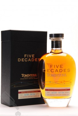 Tomintoul Five Decades 50th Anniversary