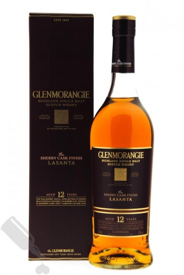 Glenmorangie 12 years Lasanta - Old Bottling