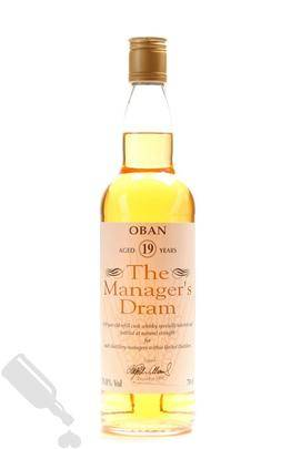 Oban 19 years 1995 The Manager s Dram