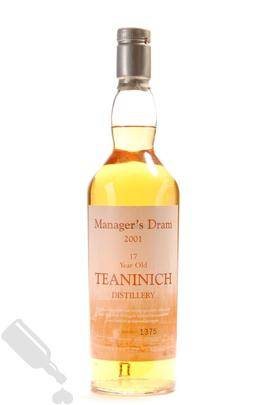 Teaninich 17 years 2001 The Manager s Dram