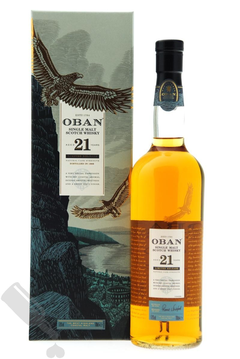 Oban 21 years 1996 - 2018 Limited Release