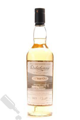 Dalwhinnie 12 years 2009 The Manager s Dram