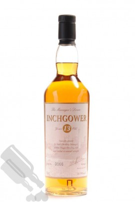 Inchgower 13 years 2007 The Managers Dram