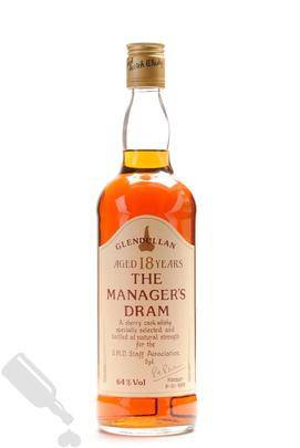 Glendullan 18 years 1989 The Manager s Dram 75cl