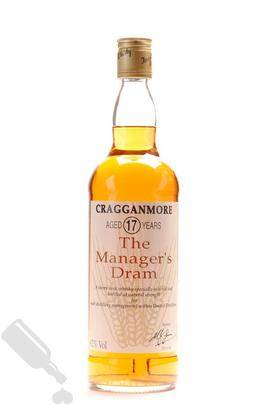 Cragganmore 17 years 1992 The Manager s Dram 75cl
