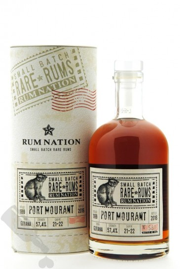 Port Mourant 1999 - 2016 #21-22 Rum Nation