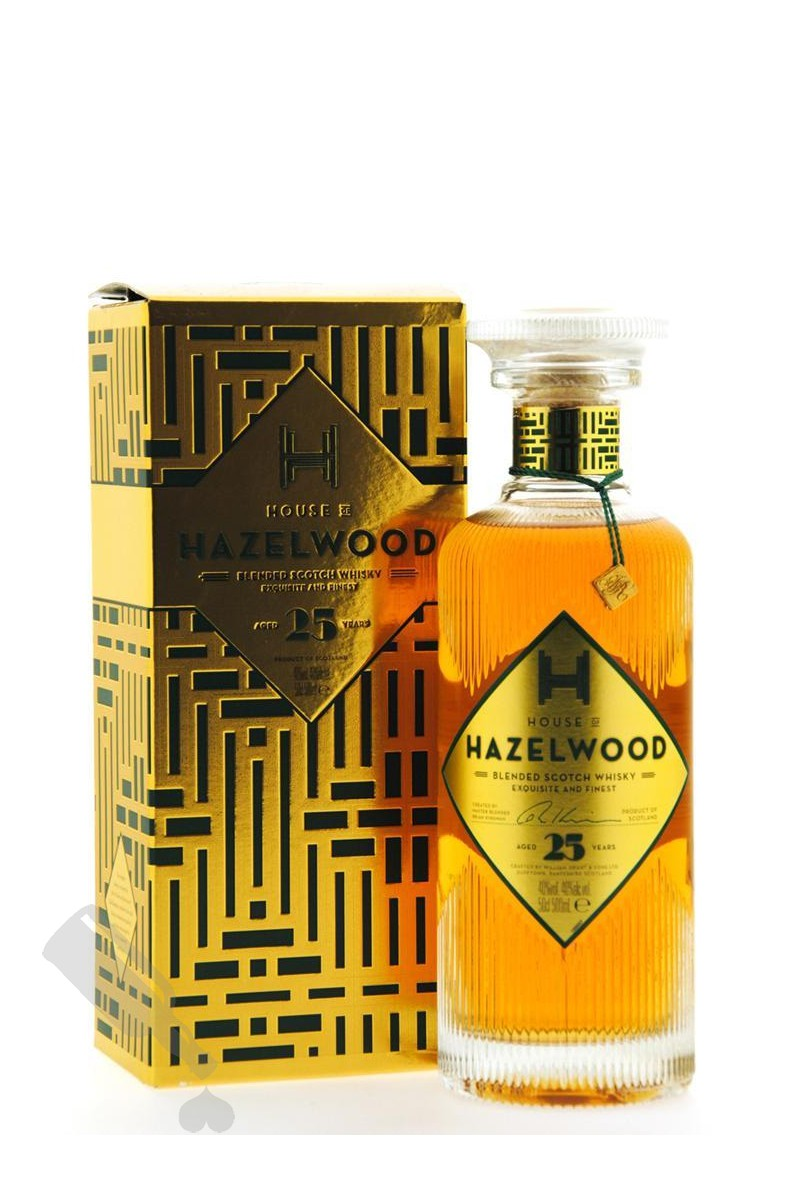 House of Hazelwood 25 years 50cl