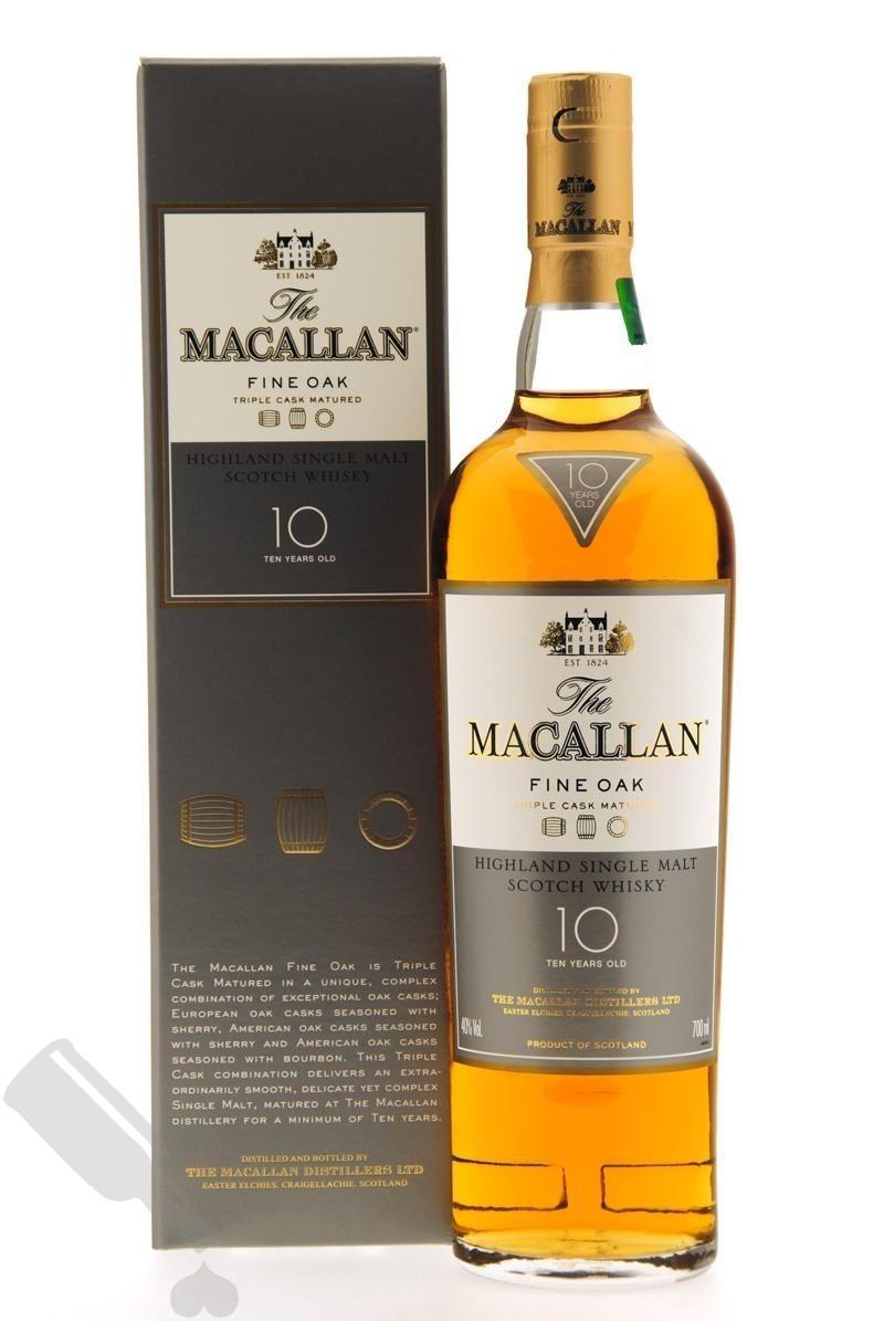 Macallan 10 years Fine Oak