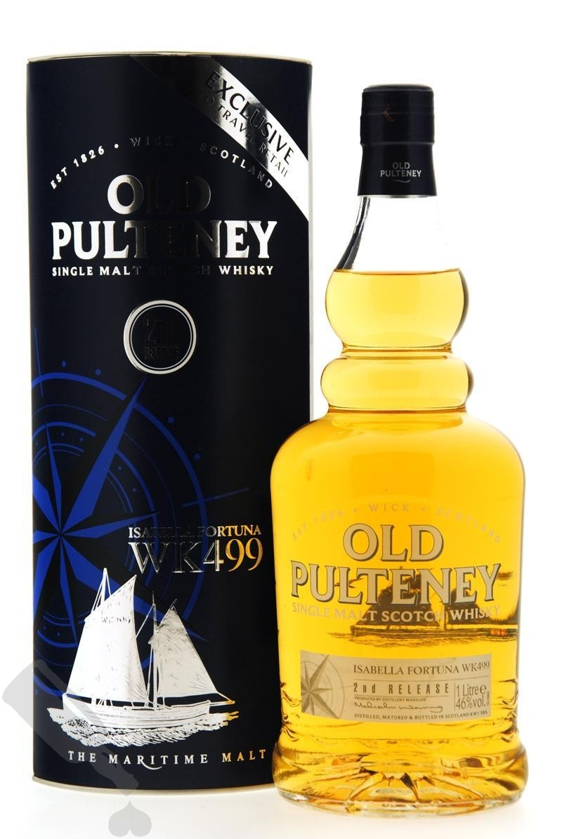 Old Pulteney Isabella Fortuna WK499 2nd Release 100cl