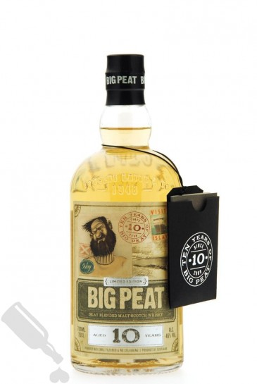 Big Peat 10 years Limited Edition - Ten Years of Big Peat