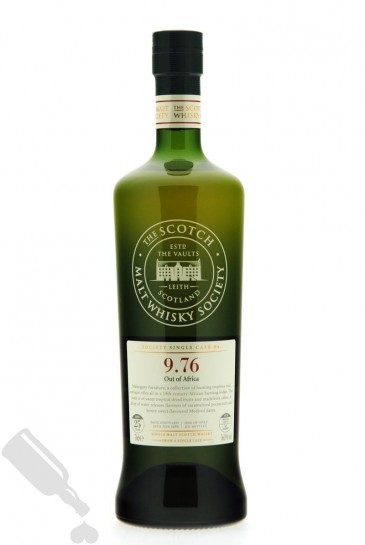 Glen Grant 25 years 1988 Society Cask No. 9.76 Out of Africa