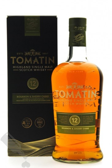 Tomatin 12 years 100cl