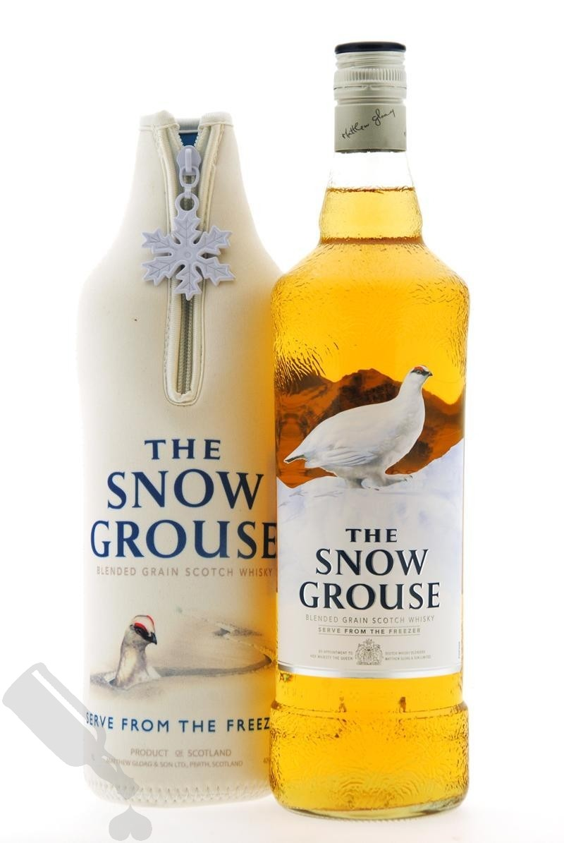 The Snow Grouse 100cl Limited Edition with jacked