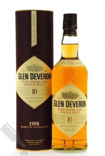 Glen Deveron 10 years 1998