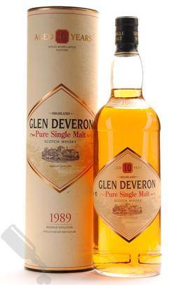 Glen Deveron 10 years 1989 100cl