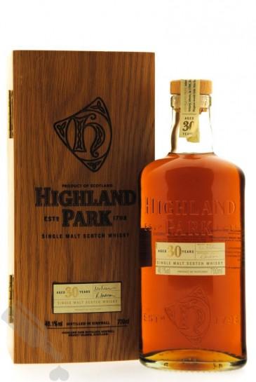 Highland Park 30 years bottled 2007