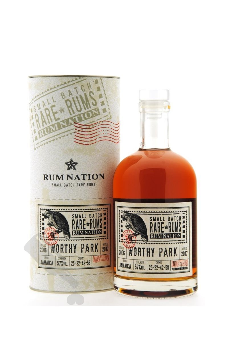 Worthy Park 2006 - 2017 #25-32-42-58 Rum Nation