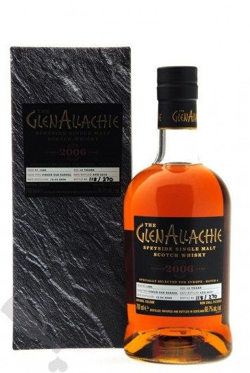 GlenAllachie 13 years 2006 - 2019 #1395 For Europe - Batch 2