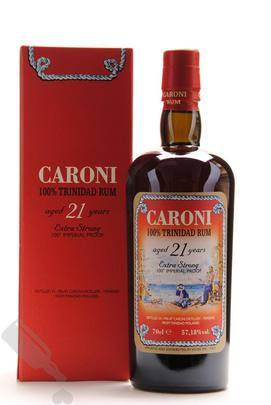 Velier 21 years 1996 - 2017 Extra Strong Trinidad Caroni