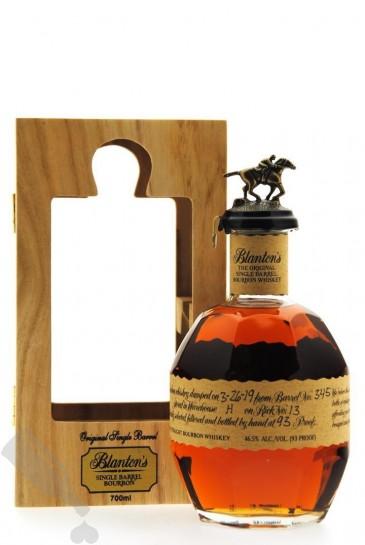 Blanton's The Original Single Barrel - Wooden Box