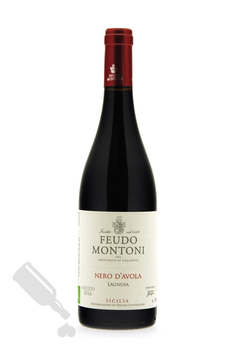 Feudo Montoni Nero d'Avola Lagnusa