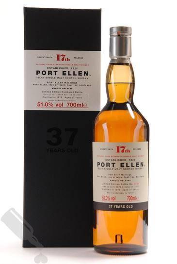 Port Ellen 37 years 1979 2017 17th Release