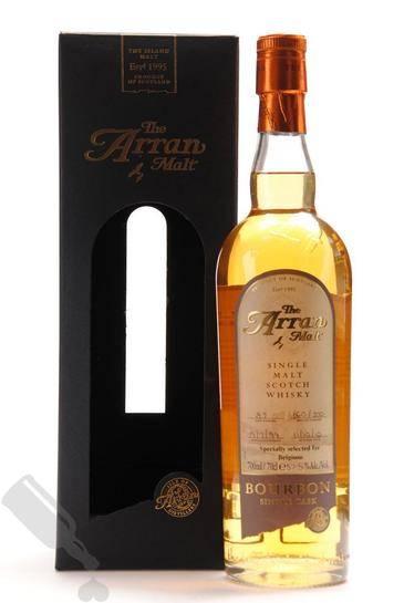 Arran 1999 2010 89 Bourbon Single Cask for Belgium