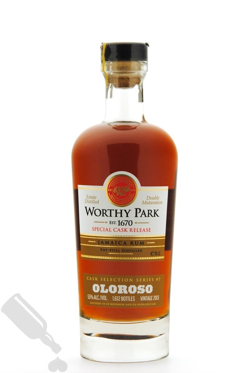 Worthy Park 2013 - 2019 Cask Selection Series #7 Oloroso