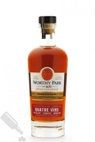 Worthy Park 2013 - 2019 Cask Selection Series #8 Quatre Vins