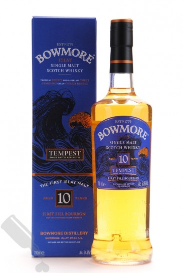Bowmore 10 years Tempest - Small Batch Release No.6