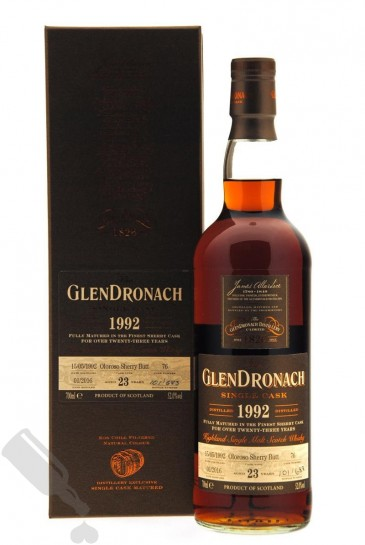 GlenDronach 23 years 1992 - 2016 #76