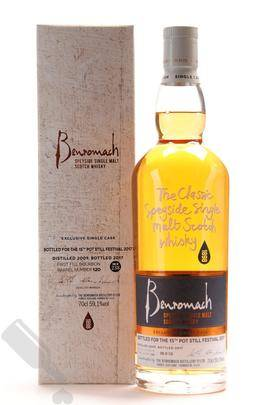 Benromach 2009 2017 120 for the 15th Pot Still Festival 2017